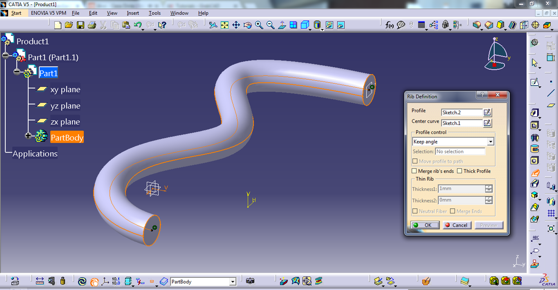 Pipe drawing with Catia | GrabCAD Tutorials
