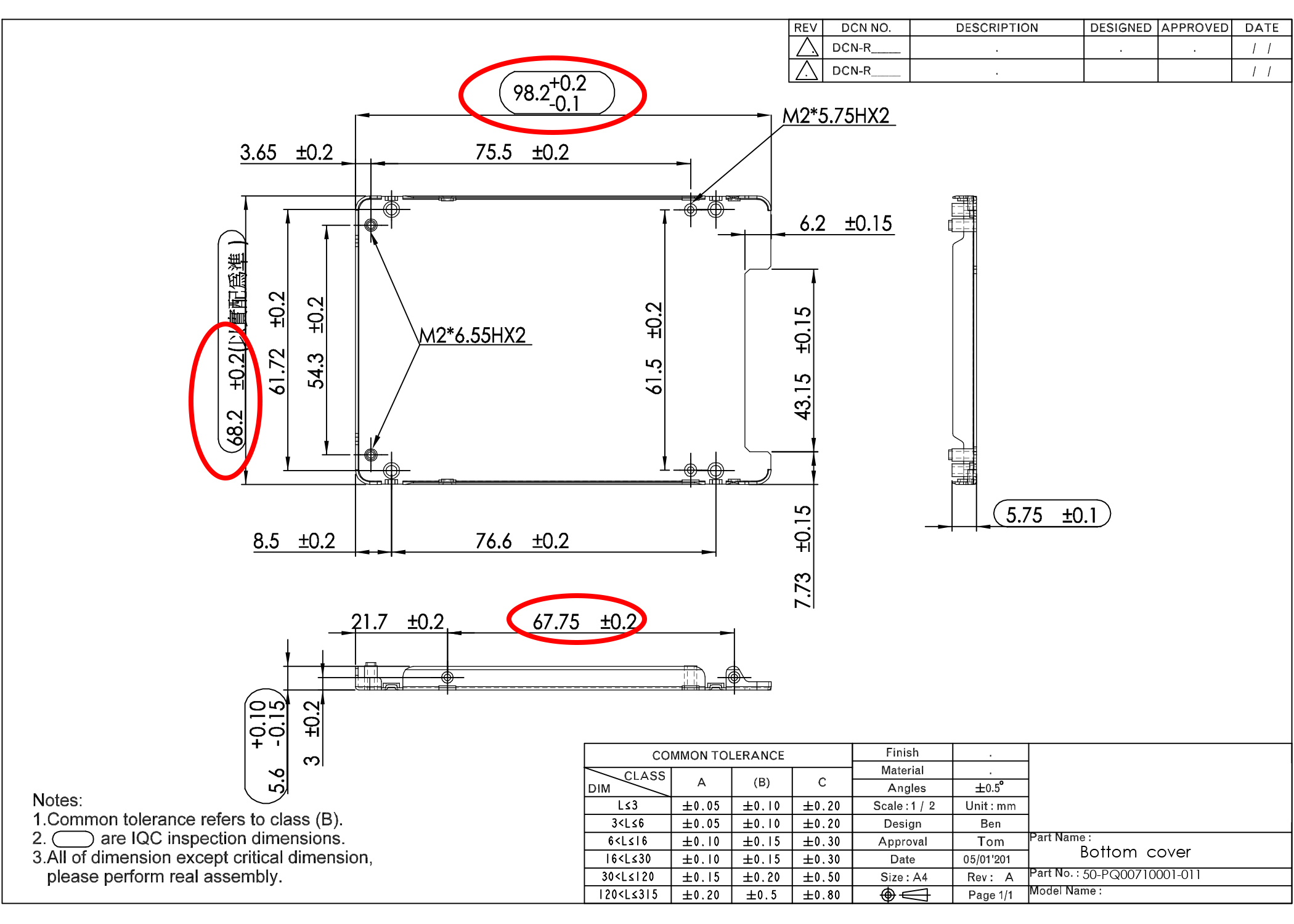 In Atttached Drawing Sheet Metal Thickness Is 0 8mm When