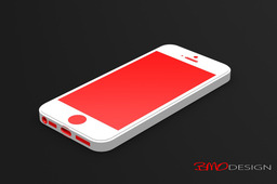Dimensioned iPhone 5 for Case Design