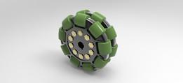 100mm Heavy Duty Omnidirectional Wheel
