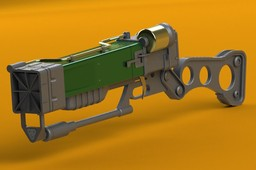 AER9 Laser Rifle from Fallout 3