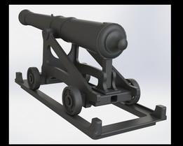 6-pounder, Cast Iron Cannon