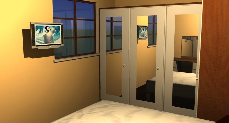 Bedroom Plan 3d Autocad Sketchup 3d Cad Model Grabcad
