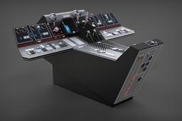 Millennium Falcon: Cockpit Console (Dashbaord) Full Detail