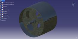 Belt wheel for vertical belt transporter