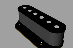 Telecaster-Style Single Coil Bridge Pickup