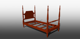 THE FOUR POSTER BED