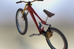 Hubless Mountain Bike Concept