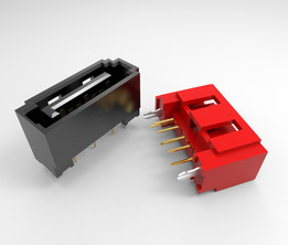 LOTES SATA 7pin Single Connector