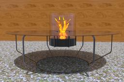 """""""Table of Fire"""" by Tommy"""