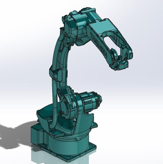 YASKAWA MOTOMAN GP12 | 3D CAD Model Library | GrabCAD