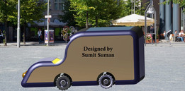 CAR Designed by Sumit Suman