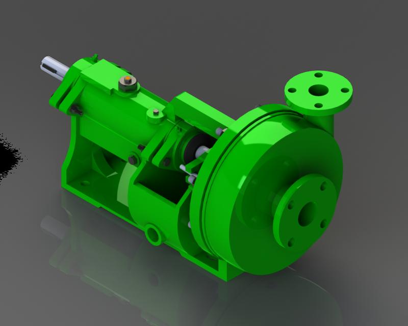 Centrifugal Pump B SM | 3D CAD Model Library | GrabCAD