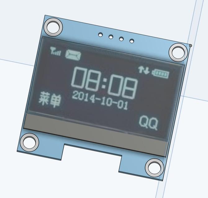 1 3 Inch 4Pin White OLED LCD Display 12864 IIC I2C Interface