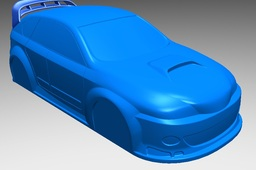 RC Subaru Body Shell