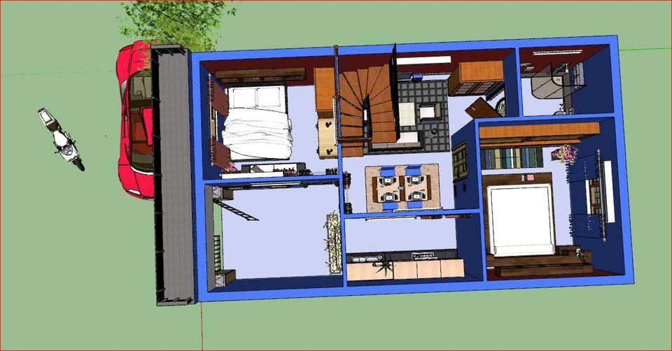 sweet home   3D CAD Model Liry   GrabCAD on vastu plans, architects plans, luxury plans, story house plans, 3 storey house plans, bedroom plans,
