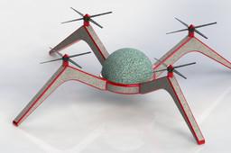Spider Quad- Multifunctional UAV