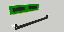 DDR4_SLOT_UDIMM_288_PIN_CONNECTOR_By_DJEDJE06130FR