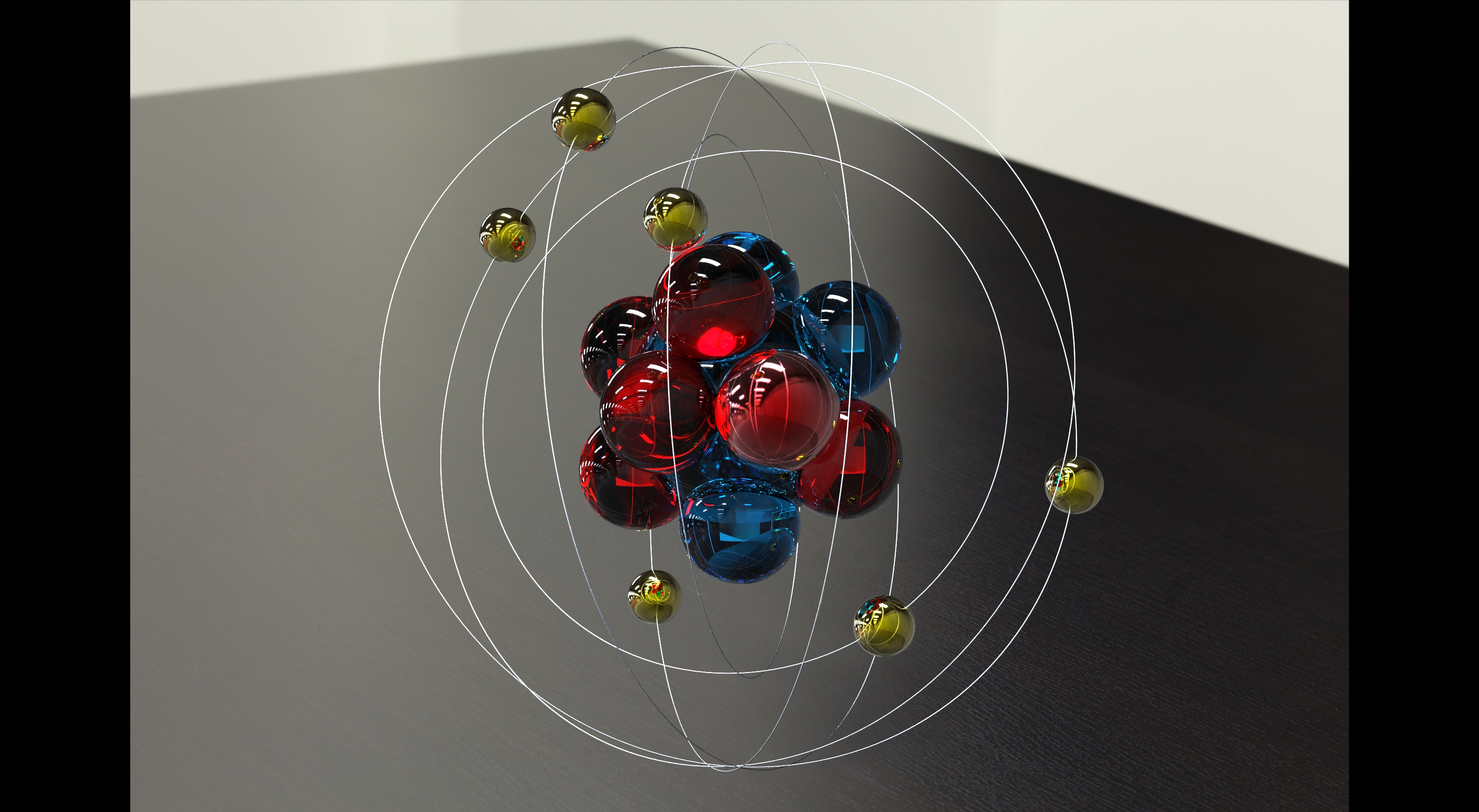 Atom Model Project - Viewing Gallery Oxygen Atom Model For Kids