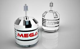 Brushless DC Motor - MEGA 600-10-08