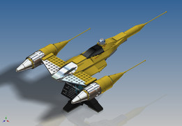 LEGO Star Wars - UCS Naboo Starfighter (10026)