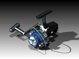 A fishing reel