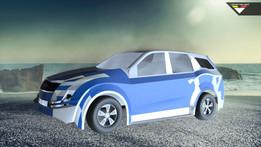 Mahindra XUV Re Designed