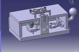 JIG for Drilling Top Holes of a Bearing Housing