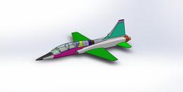 "Tutorial Ansys - Análise no jato Talon ""T-38"""