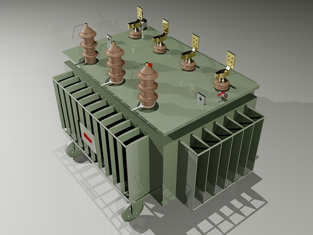 Power Transformer 3d Related Keywords & Suggestions - Power