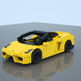 Lego set 8169 Lamborghini Gallardo LP-560-4
