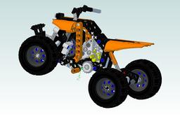 quad lego technic