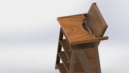High Chair and Steps in One
