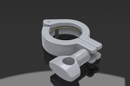 "1"" - 1-1/2"" Tri Clover Sanitary Fitting Clamp"