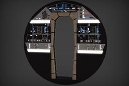 Millennium Falcon: Cockpit Bulkhead Full Detail