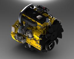 engine perkins 1104d-44t