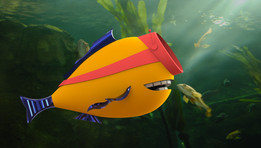 Imitator Fish (Grabby Fan Fish)