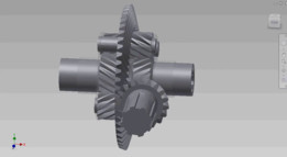 Spiral Gear Differential (Limited Slip Differential)