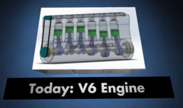 V6 Engine assembly --- Ensamblaje Motor V6