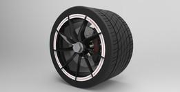 Wheel of Koenigsegg Agera R