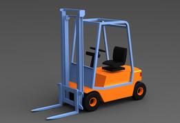 Forklift, lift truck