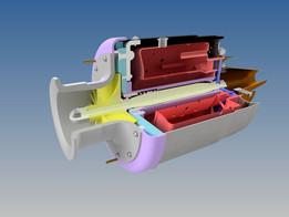 Turbine engine TK-50