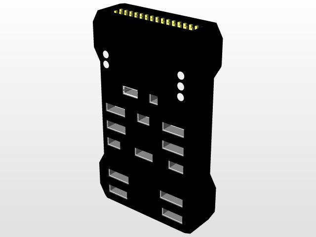 Pixhawk Autopilot | 3D CAD Model Library | GrabCAD