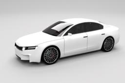 S.Automotive liftback-coupe concept car