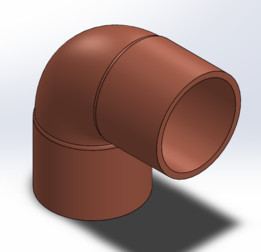 COPPER PIPE COMPONENTS