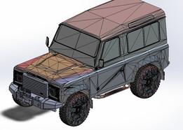 Land rover bump
