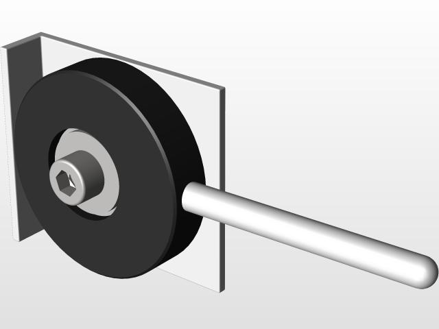 Eccentric Clamp CNC | 3D CAD Model Library | GrabCAD