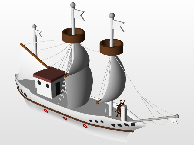 how to make a pirate ship in solidworks