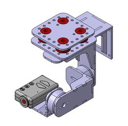 3 Axis Acrylic Mobius Brushless Gimbal