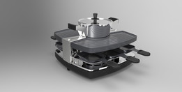 Design Raclette - Fondue - Set